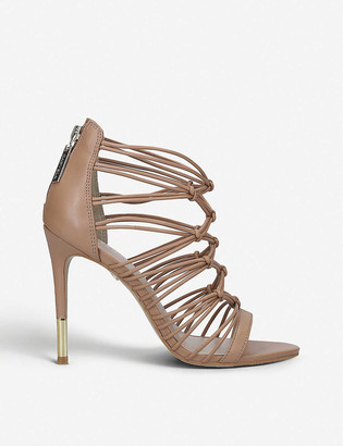 Carvela Gila strappy leather heel sandals