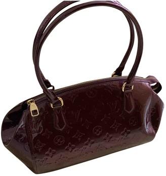 Louis Vuitton Purple Patent leather Handbags