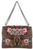 Gucci 2017 Medium Embroidered Dionysus Shoulder Bag
