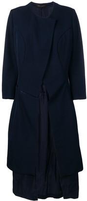 Comme des Garcons Pre-Owned deconstructed back coat
