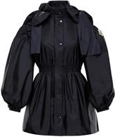 Simone Rocha Moncler Genius + Susan Bow-Detailed Shell Peplum Jacket