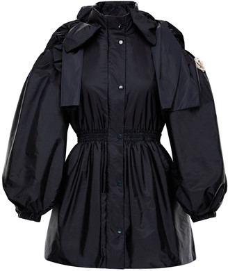 MONCLER GENIUS + Simone Rocha Susan Bow-Detailed Shell Peplum Jacket