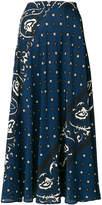 RED Valentino bandana print skirt
