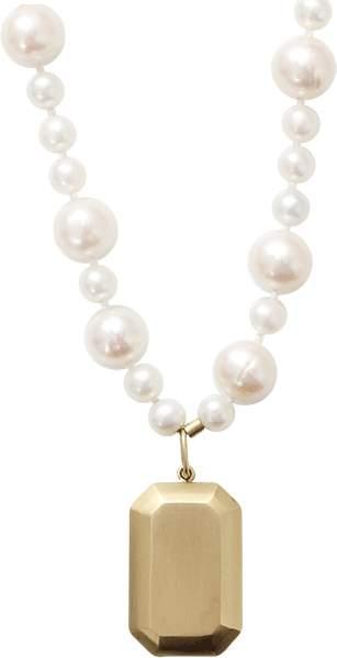 Carolina Bucci Looking Glass Fresh Water Pearl Necklace