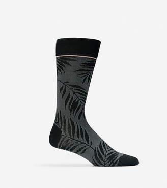 Cole Haan Palm Leaves Crew Socks