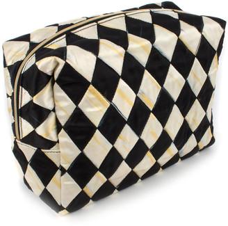 Mackenzie Childs Harlequin Large Cosmetic Bag