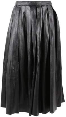BLK DNM Black Leather Skirts