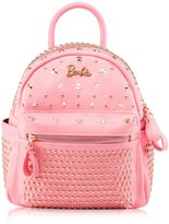 Barbie Modern Fashion PU Leather Rivet Women Girls Travel Casual Daypacks Backpack Bags BBBP023