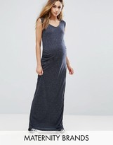 Mama Licious Mama.licious Mamalicious Easy Sleeveless Jersey Maxi Dress