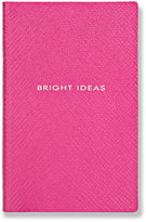 Smythson Panama Bright Ideas Leather Notebook