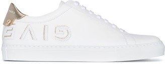 Givenchy Urban Street appliqued leather sneakers