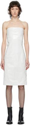 Ann Demeulemeester White Gleam Dress