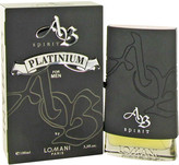 Lomani AB Spirit Platinum by Eau De Toilette Spray for Men (3.3 oz)