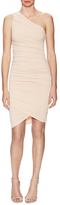Alice + Olivia Dee Dee Ruched One Shoulder MiniDress