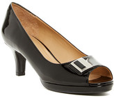 Naturalizer Hark Mid Peep-Toe Pump - Wide Width Available