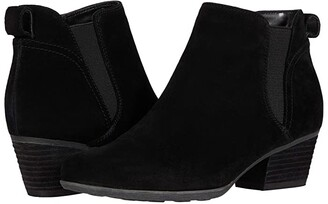 Blondo Vance Waterproof Bootie (Black Suede) Women's Boots