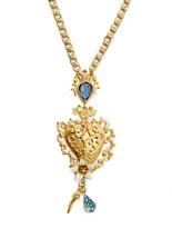 Dolce & Gabbana Heart-embellished necklace