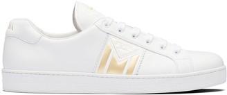 Prada Printed Logo Low-Top Sneakers