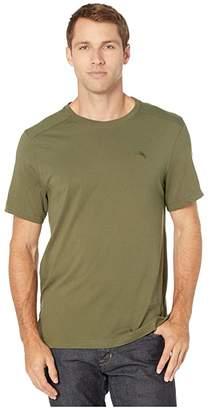 Tommy Bahama Crew Neck Lounge T-Shirt (Dark Celadon) Men's T Shirt