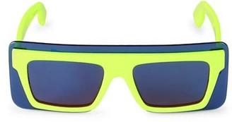 Kenzo 53MM Plastic Sheild Sunglasses