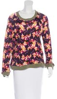 Saloni Floral Long Sleeve Top