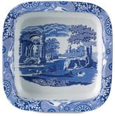 "Spode Blue Italian"" Square Dish, 10"""