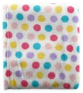 Baby Vision BabyVision® Luvable Friends® Dot Coral Fleece Receiving Blanket