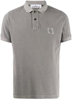 Stone Island Garment Dyed Polo Shirt