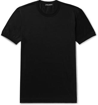 Dolce & Gabbana Silk-Jersey T-Shirt