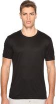 Dolce & Gabbana Polka Dot Silk Modal Round Neck Tee Men's T Shirt