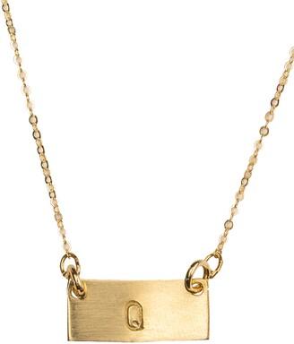 Nashelle Tiny Bar Necklace