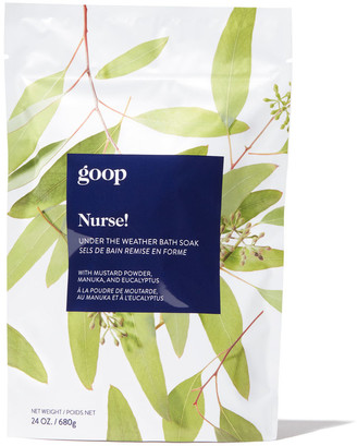 Goop Beauty Nurse! Under The Weather Bath Soak
