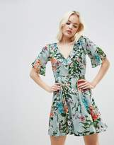 Rock & Religion Floral Frill Dress