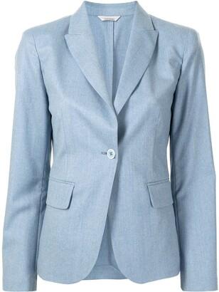 Colombo Wool-Blend Single-Breasted Blazer