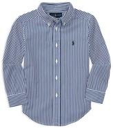 Ralph Lauren Boys' Poplin Bengal Stripe Shirt - Sizes 2-7