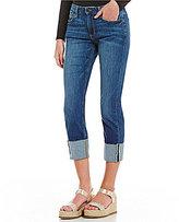Joe's Jeans Smith Mid Rise Cuffed Skinny Jeans