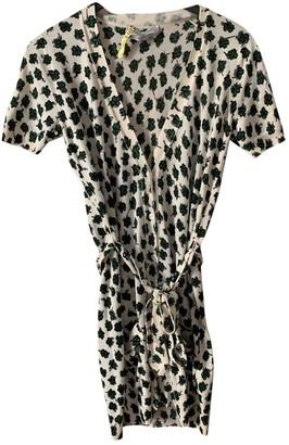 Saint Laurent Green Cashmere Dress for Women