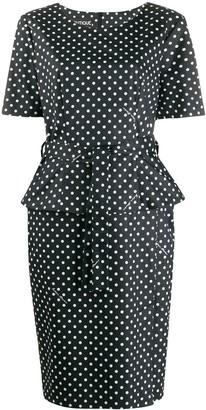 Moschino Polka Dot Dress