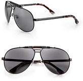 Diesel Metal Aviator Sunglasses
