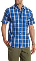 Dockers Short Sleeve Plaid Classic Fit Shirt
