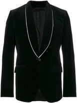 Givenchy classic fitted blazer - men - Cotton/Cupro/Viscose - 46