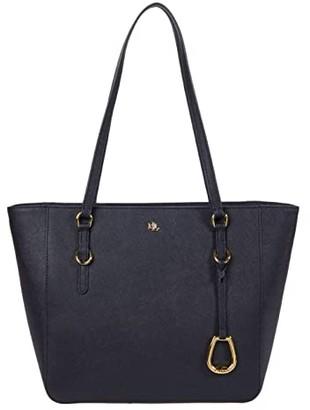 Lauren Ralph Lauren Shopper Tote (Lauren Navy) Handbags