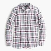J.Crew Tall Classic fit boy shirt in grey plaid