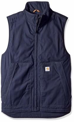 Carhartt Men's Big Big & Tall Flame Resistant Quick Duck Vest