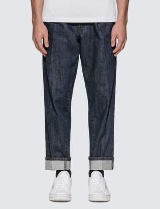 Prada Selvage Denim Dip & Dry Jeans