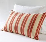 Tent Stripe Lumbar Pillow Cover