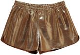 soeur Veilleuse Leather Shorts