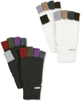 Steve Madden Colorblock Fingerless Boyfriend Gloves