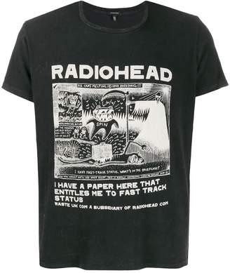 R 13 Radiohead band T-shirt
