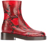 Marni zip-up ankle boot